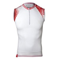 Compressport Compression Running Tank - White